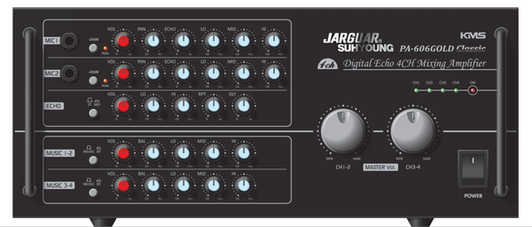 Amply Jarguar PA-606Gold Classic