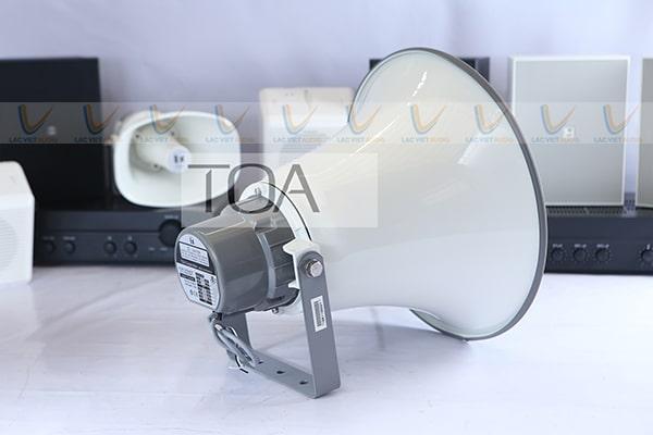 Loa TOA TC-651M có chất lượng âm thanh rõ ràng